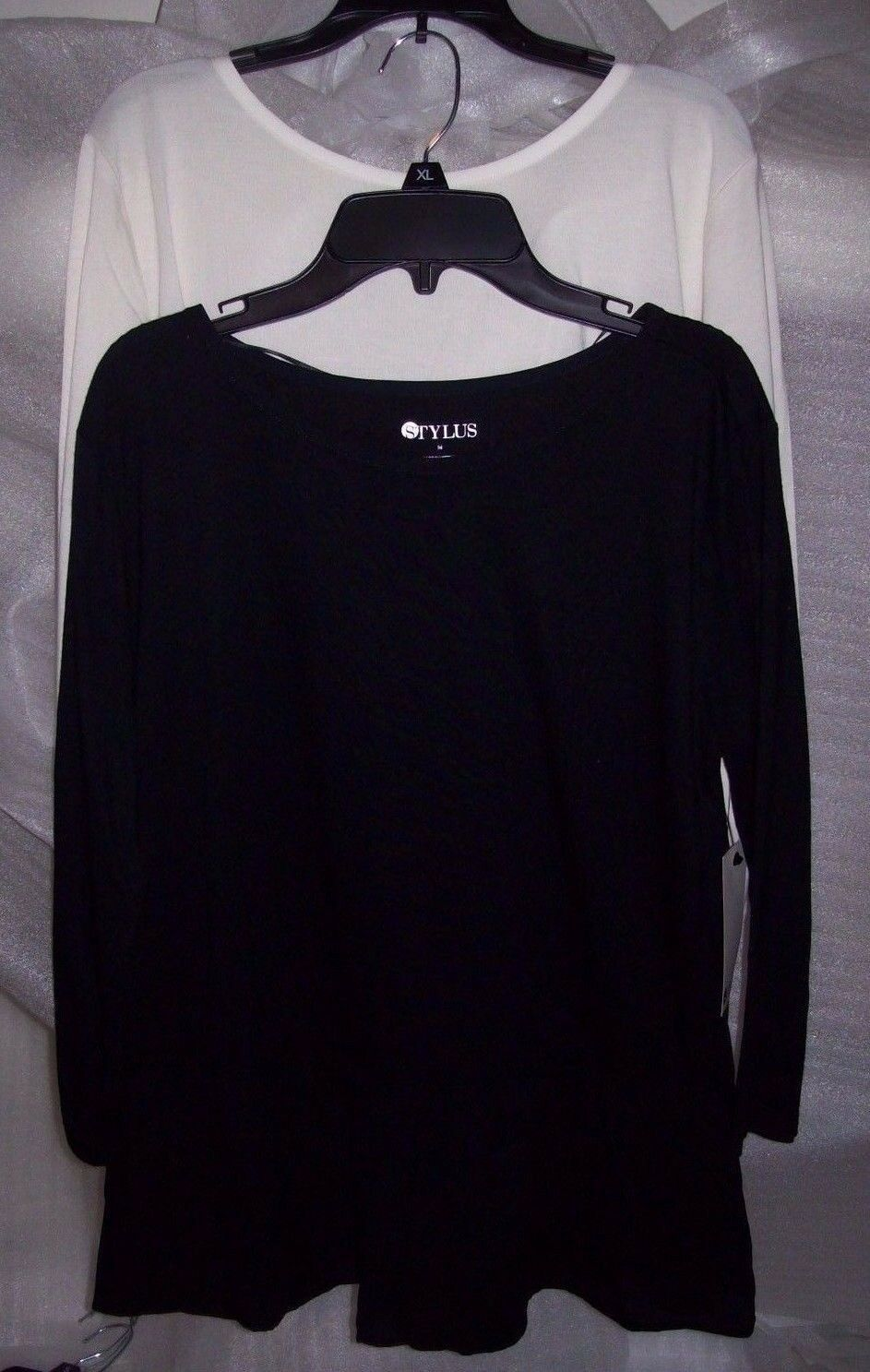 WOMENS STYLUS TOPS MULTIPLE COLORS AND SIZES NEW WITH TAGS M