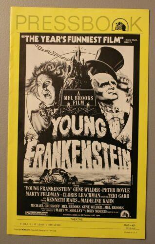 Young Frankenstein 1974 Uncut Movie Pressbook