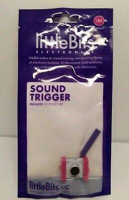 littleBits SOUND TRIGGER (module i20)  input  for sale  Shipping to India