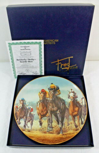 Kentucky Derby-Seattle Slew Fred Stone Collector