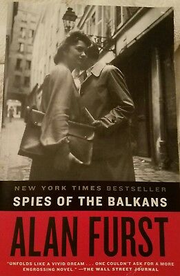NEW Spies of the Balkans: A Novel by Alan Furst - Paperback BEST