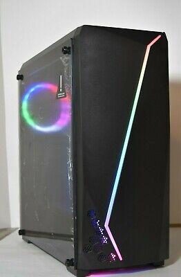10 Core Gaming Computer Desktop PC Tower R7 Graphic 1TB 8GB  RGB WiFi WIN 10