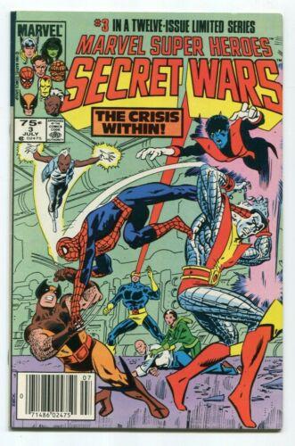 Marvel Super Heroes Secret Wars #3 First Titania! Actual Scans!