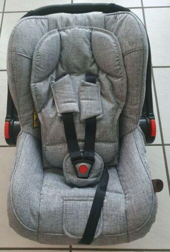 ABC Design Babyschale Autoschale Hazel graphite grey grau neu inkl. Adapter NEU