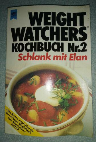Weight Watchers Kochbuch Nr. 2: Schlank mit Elan (Heyne, 1983)