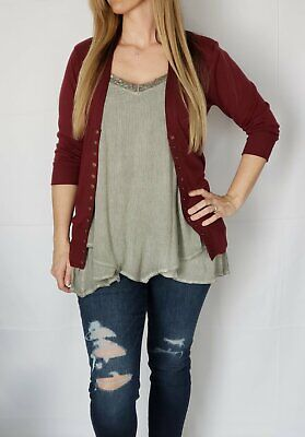 best boutique maroon snap front