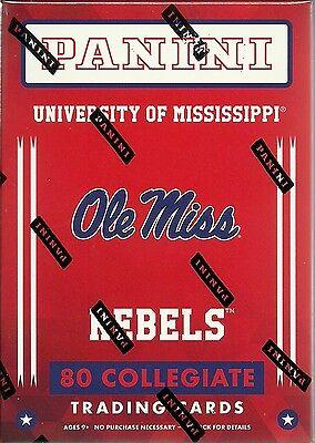 2016 Panini Univ. Of MS Ole Miss Rebels Multi-Sport Blaster Box Trading Cards