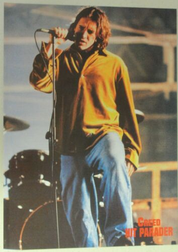 CREED Scott Stapp Full Page Pinup magazine clipping EARLY SHOT OF SCOTT