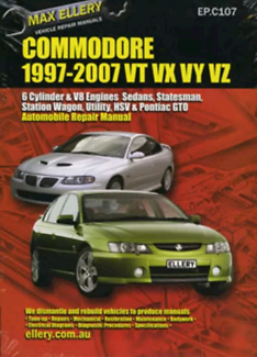 Commodore repair manual vt vx vy vz ls1 v8 v6 l67  supercharged Eagle Vale Campbelltown Area Preview