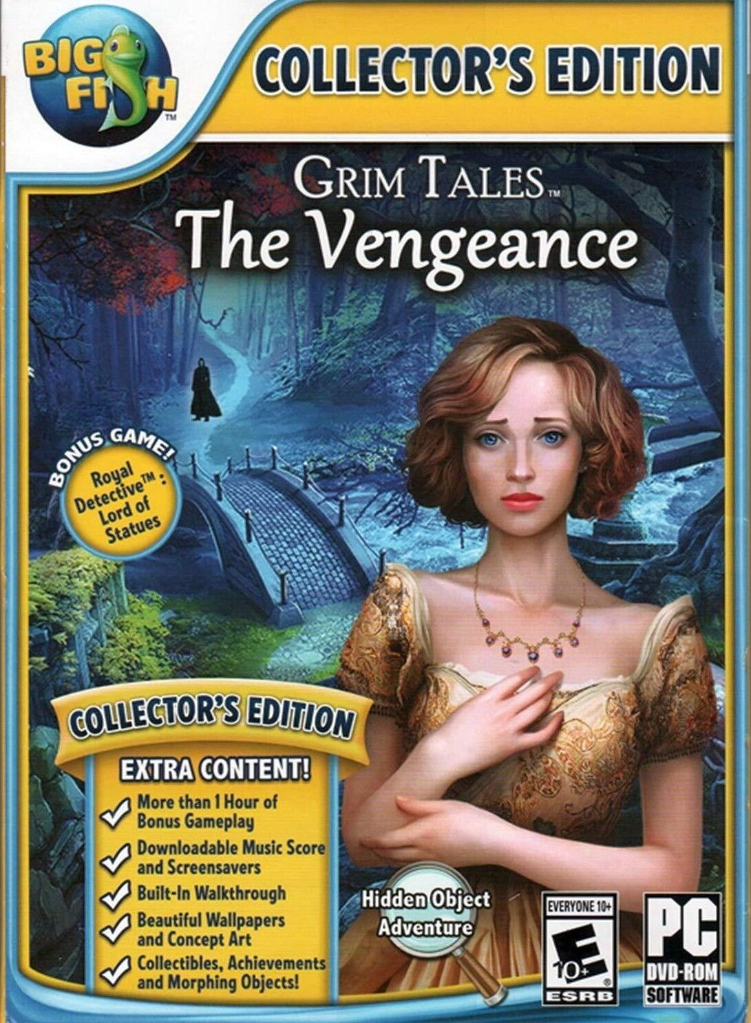 Computer Games - Grim Tales The Vengeance Collector's Edition PC Games Windows 10 8 7 XP Computer