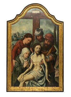 Haarlem 1475-1555 / 56  Christ 16th Century Old Master Oil Painting