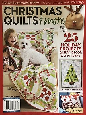 CHRISTMAS QUILTS & MORE SPECIAL EDITION 2018 BETTER HOMES GARDENS MAGAZINE NEW