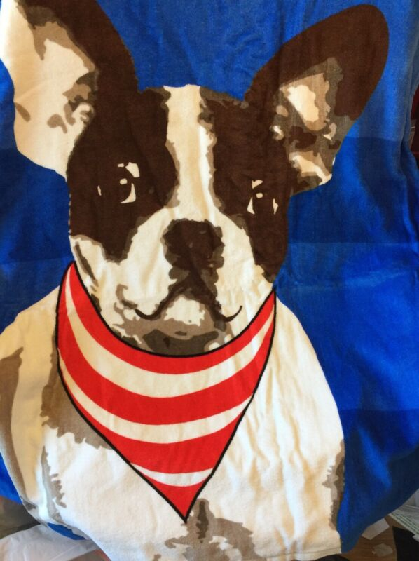 Huge French Bulldog Towel