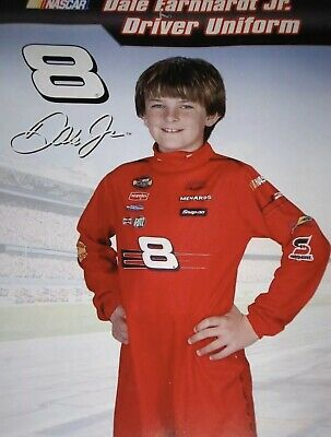 Dale Earnhardt Halloween Costume (DALE EARNHARDT JR Halloween Costume One Piece Suit Small)