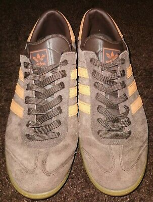 Adidas originals Hamburg St Pauli UK 10 brown orange Deadstock mens trainers