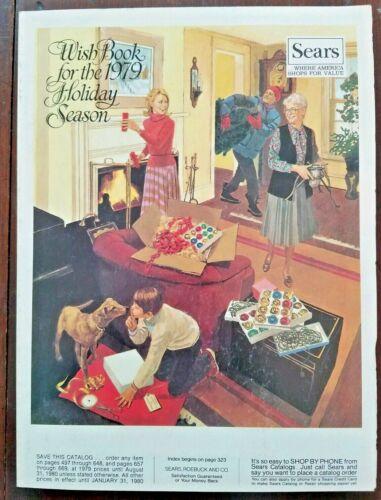 SEARS WISH BOOK ~ 1979 Christmas Catalog ~ Star Trek ~ Star Wars ~ Buck Rogers