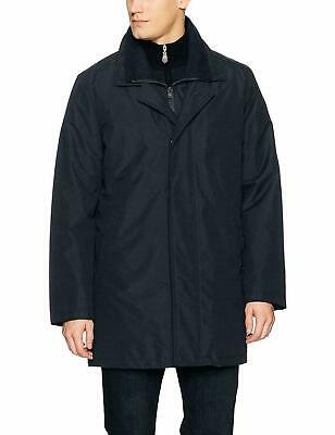 Kenneth Cole New York Men's Radford 2-in-1 Raincoat Top Coat Blue XL Clothing, Shoes & Accessories
