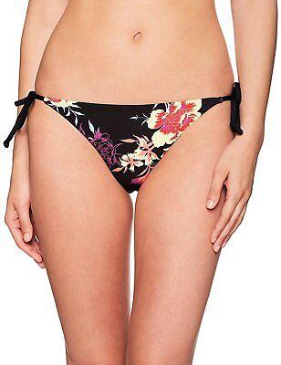 Splendid Women's Electric Bloom Reversible Tie Side Bikini Bottom, Multi, XS
