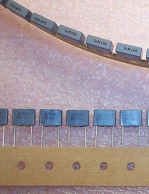 Qty 100 1000pf .001uf 400v Radial Metallized Film R84md1100m Arcotronics Mkt