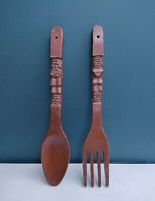 Spoon Fork Kitchen Art Kitchen Art Print Wood Block Print Slow Dancing Utensils