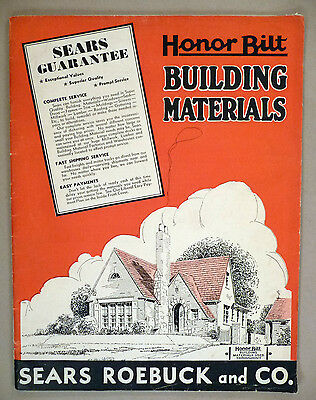 Sears Building Materials Catalog - 1934