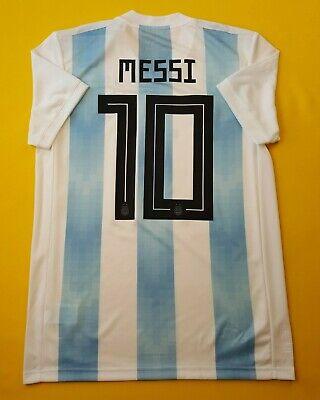 c3f1a9ef09f04 5+ 5 Messi Argentina soccer medium 2018 home shirt BQ9324 football Adidas  ig93
