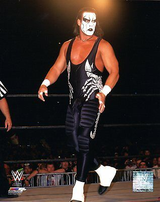 """STING WWE PHOTO 8x10"""" OFFICIAL WRESTLING PROMO TNA WCW"""