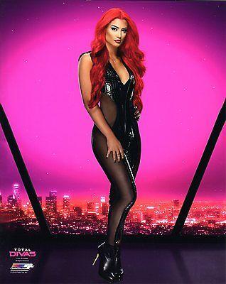 "EVA MARIE TOTAL DIVAS STAR WWE PHOTO WRESTLING GENUINE OFFICIAL 8x10"" PROMO"