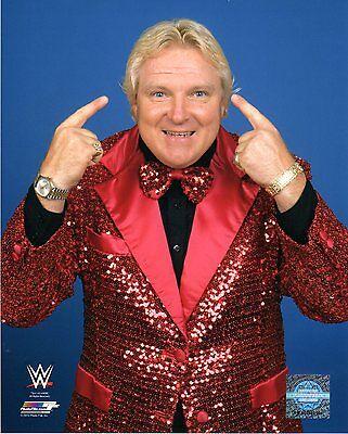 "WWE PHOTO BOBBY THE BRAIN HEENAN STUDIO 8x10"" OFFICIAL WRESTLING PROMO"