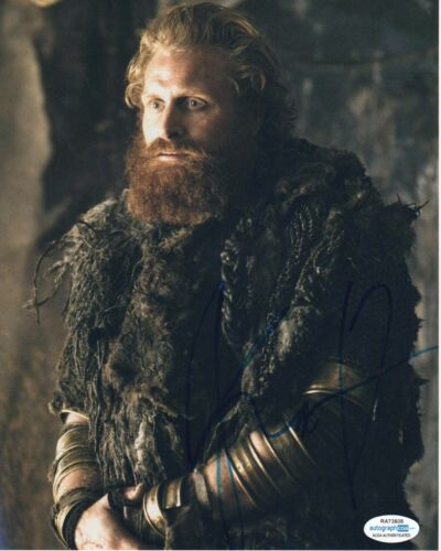 Kristofer Hivju Game of Thrones Autographed Signed 8x10 Photo