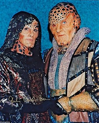 Julie Caitlin Brown as Na'Toth in BABYLON 5 Collectible 8x10 Photo AUTOGRAPHED