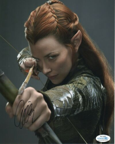 Evangeline Lilly The Hobbit Autographed Signed 8x10 Photo ACOA