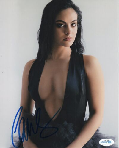 Camila Mendes Sexy Riverdale Autographed Signed 8x10 Photo ACOA