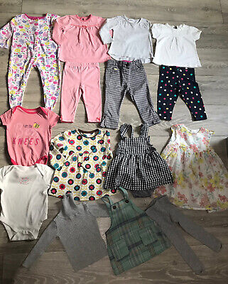 Baby Girls Clothes Bundle Age 6-9 Months.