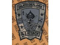 """US Army 4th Bn 2nd Attack Aviation Regiment DEATH DEALERS 4.5/"""" patch"""