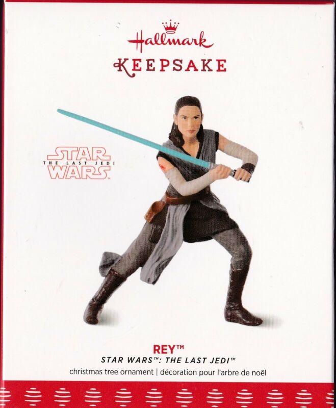 Rey Star Wars The Last Jedi Hallmark Keepsake Ornament 2017