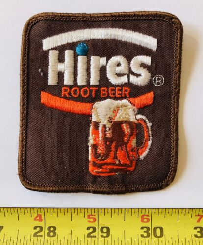 NOS Vintage patch HIRES ROOT BEER soda pop NOT a reproduction original