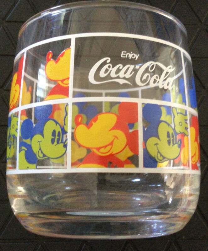 EARLY 2000's Tiny Disney Mickey Mouse Coca Cola Japan Coke Found @ Okinawa Japan