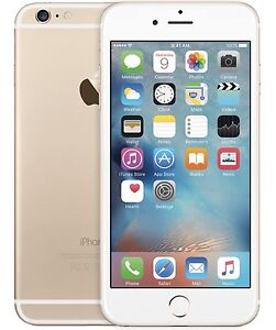 Brand new gold iPhone 6 128gb