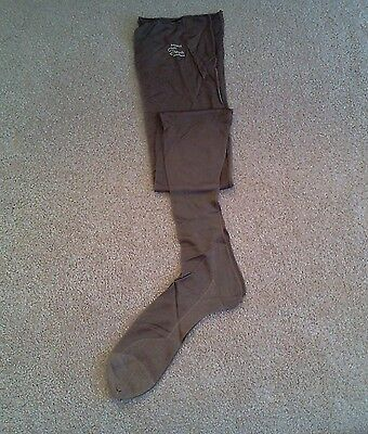 Vintage Womens Pure Silk Stockings Early 1930s  Sz  9.5, NOS