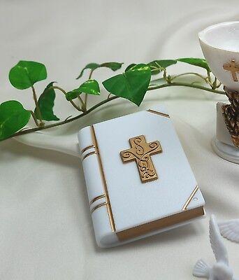 Tortenaufleger Torten-Deko Schachtel Deko-Bibel Kommunion Taufe
