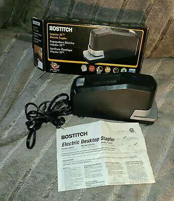 Bostitch Impulse 30 Sheet Electric Stapler Black