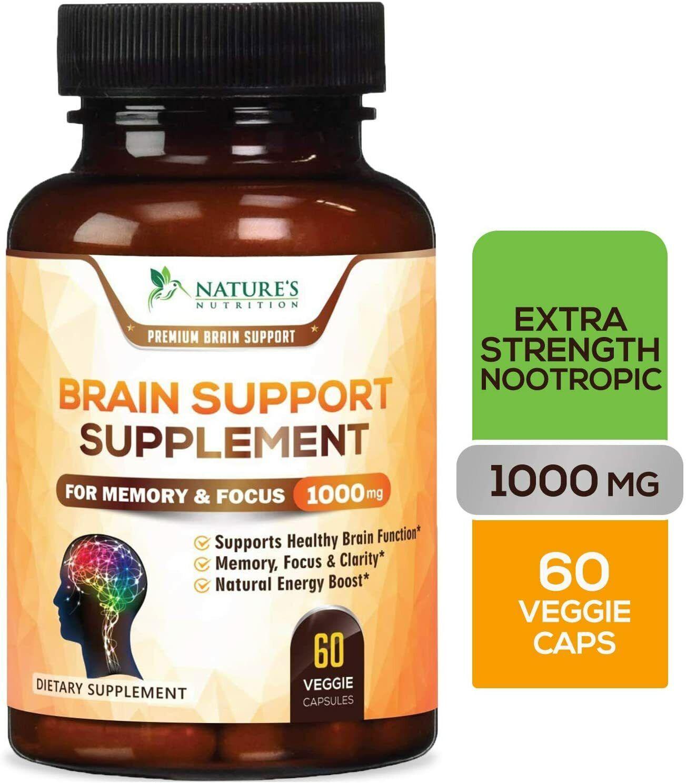 Vitaminas Para El Cerebro Y Memoria Pastillas Mejoran Concentracion Brainalin