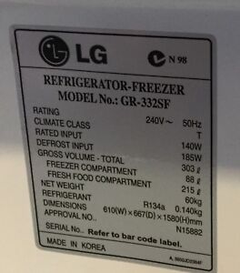 Lg model gr appliances gumtree australia free local classifieds sciox Gallery