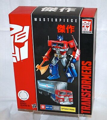 Toys R Us Excl Hasbro Masterpiece Transformers MP-10 Optimus Prime BRAND NEW!