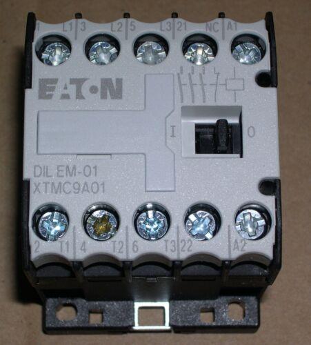 EATON, XTMC9A01B,  MINI IEC CONTACTOR, 240VAC COIL, NEW