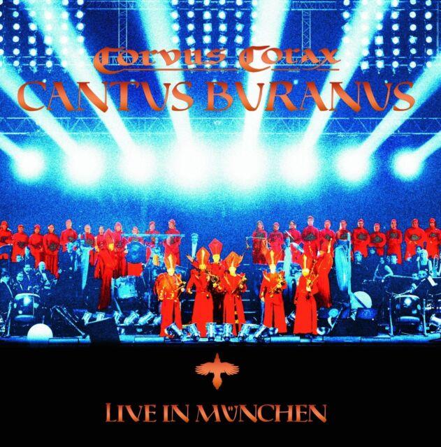 CORVUS CORAX Cantus Buranus – Live in München 2CD Digipack 2010