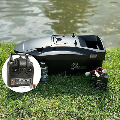 CARP BAIT BOAT LAKE REAPER WITH DEEPER PRO+ CHIRP COMPATIBLE RADIO SET