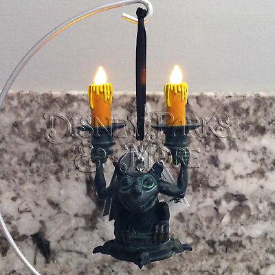 Disney Parks Disneyland Haunted Mansion Light Up Candlestick Gargoyle Ornament