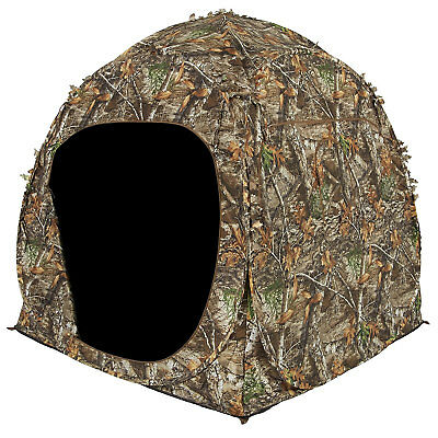 Dog House Blind - Ameristep 2 Person Shadow Guard Durashell Plus Doghouse Ground Blind, Camouflage